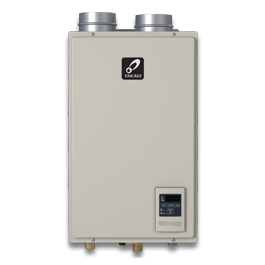Takagi Indoor Tankless Water Heater T-H3M-DV-N 120,000 BTU Natural Gas Indoor Condensing Ultra-Low NOx