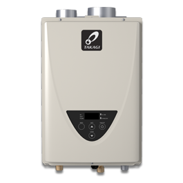 TAKAGI TK-110U-I-200 Indoor Tank Less Water Heater