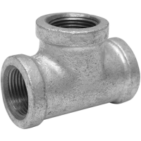 "3/4"" Galvanized Malleable Iron Tee"