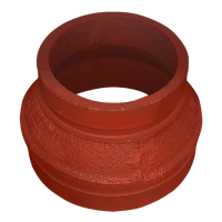 """2-1/2"""" x 1-1/2"""" GROOVED CONC. REDUCER"""