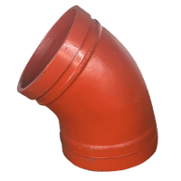 "1-1/4"" GROOVED 45 DEGREE ELBOW"