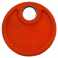 "2-1/2"" GROOVED DRAIN CAP WITH 1 OUTLET S10"