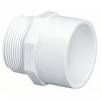"1/2"" PVC SCH40 MALE ADAPTER MPT X SOC"