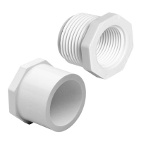 "2"" X 1"" PVC SCH40 REDUCING BUSHING SPG X SOC"