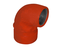 Grooved 90° Elbow - Short Radius